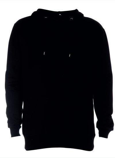 NieuwT-shirt hoody zwart