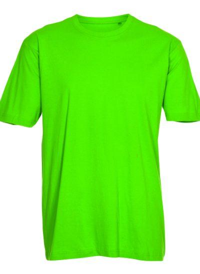 T-shirt eigen kleur groen - lime