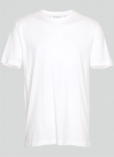 NieuwT-shirt T-shirt wit regular fit unisex