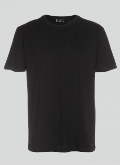 NieuwT-shirt T-shirt zwart regular fit unisex